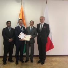 Ambasada Indii w Polsce 9.08.2018