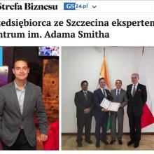 O nominacji Mariusza Łuszczewskiego na eksperta Centrum w Strefie Biznesu