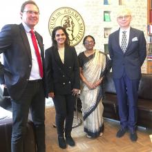 Spotkanie z przedstawicielkami World Trade Centre MumbaI