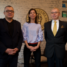 Tomasz Baran, Anna Gołębicka, Andrzej Sadowski