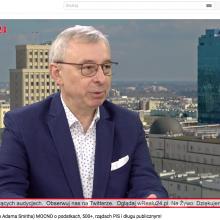 Wywiad z Andrzejem Sadowskim w telewizji wRealu24
